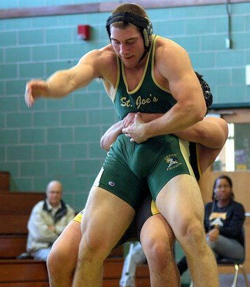 in Male boners wrestler singlets with