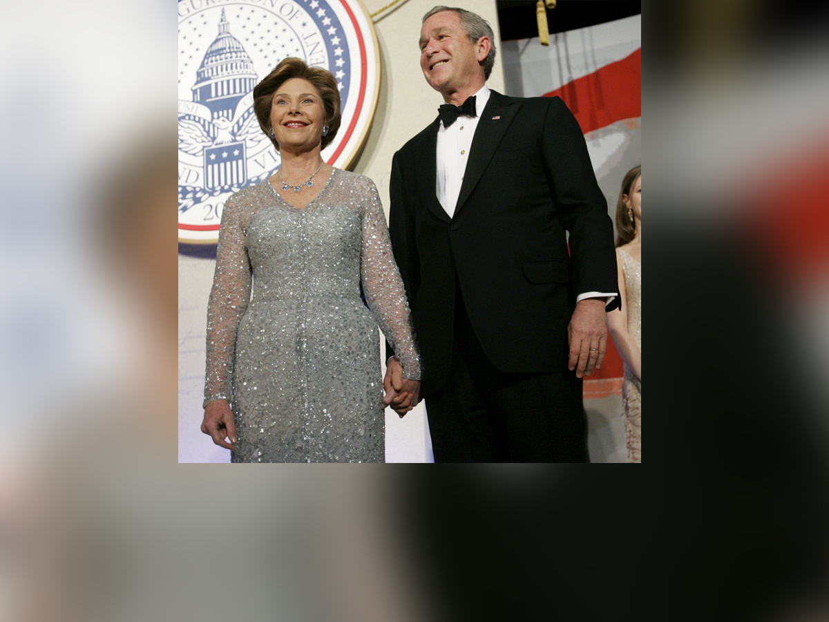 George w and laura bush porn