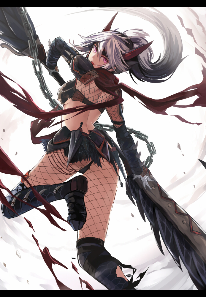 skimpy female armor Anime