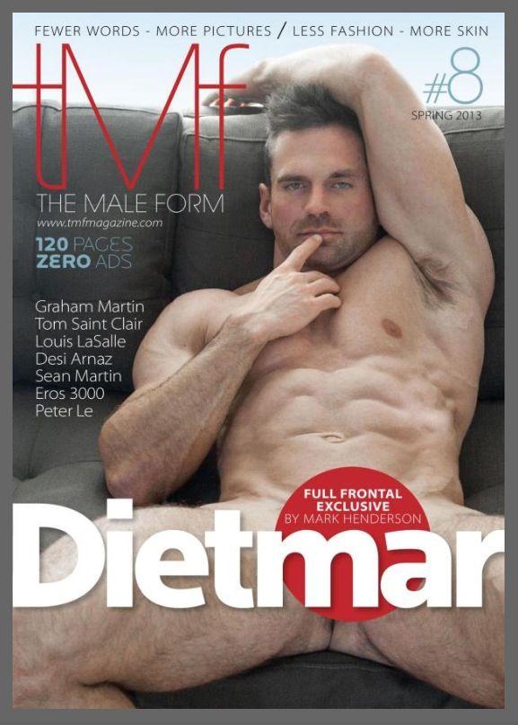 Tmf magazine male models frontal