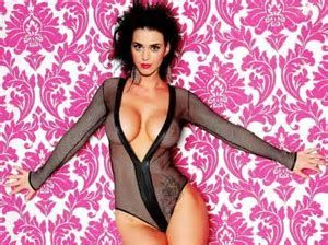 perry naked See through katy