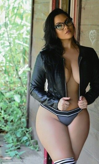 Thick curvy asian girls glasses