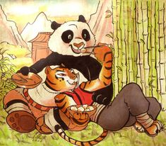 Kung fu panda tigress furry porn