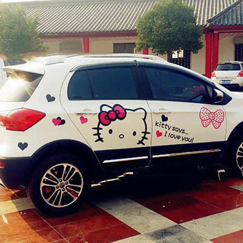 kitty car Hello