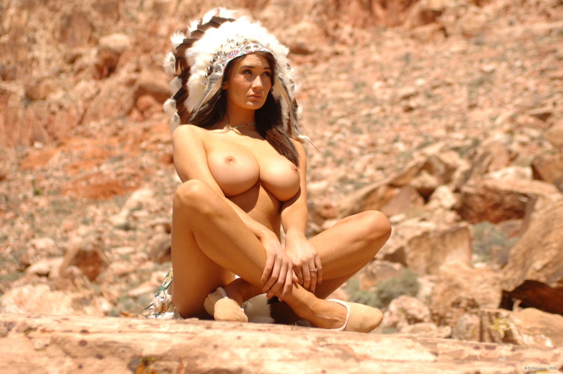 Hot sexy native american women nude