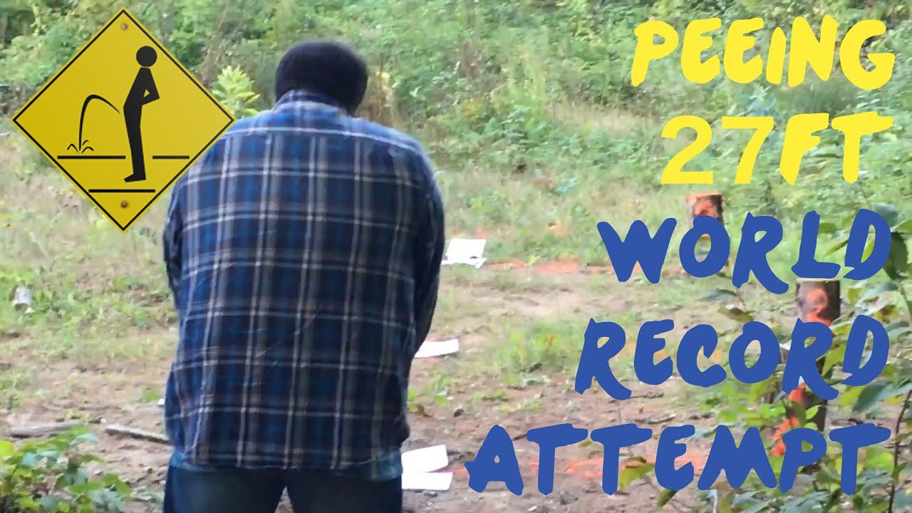 Women long distance pee