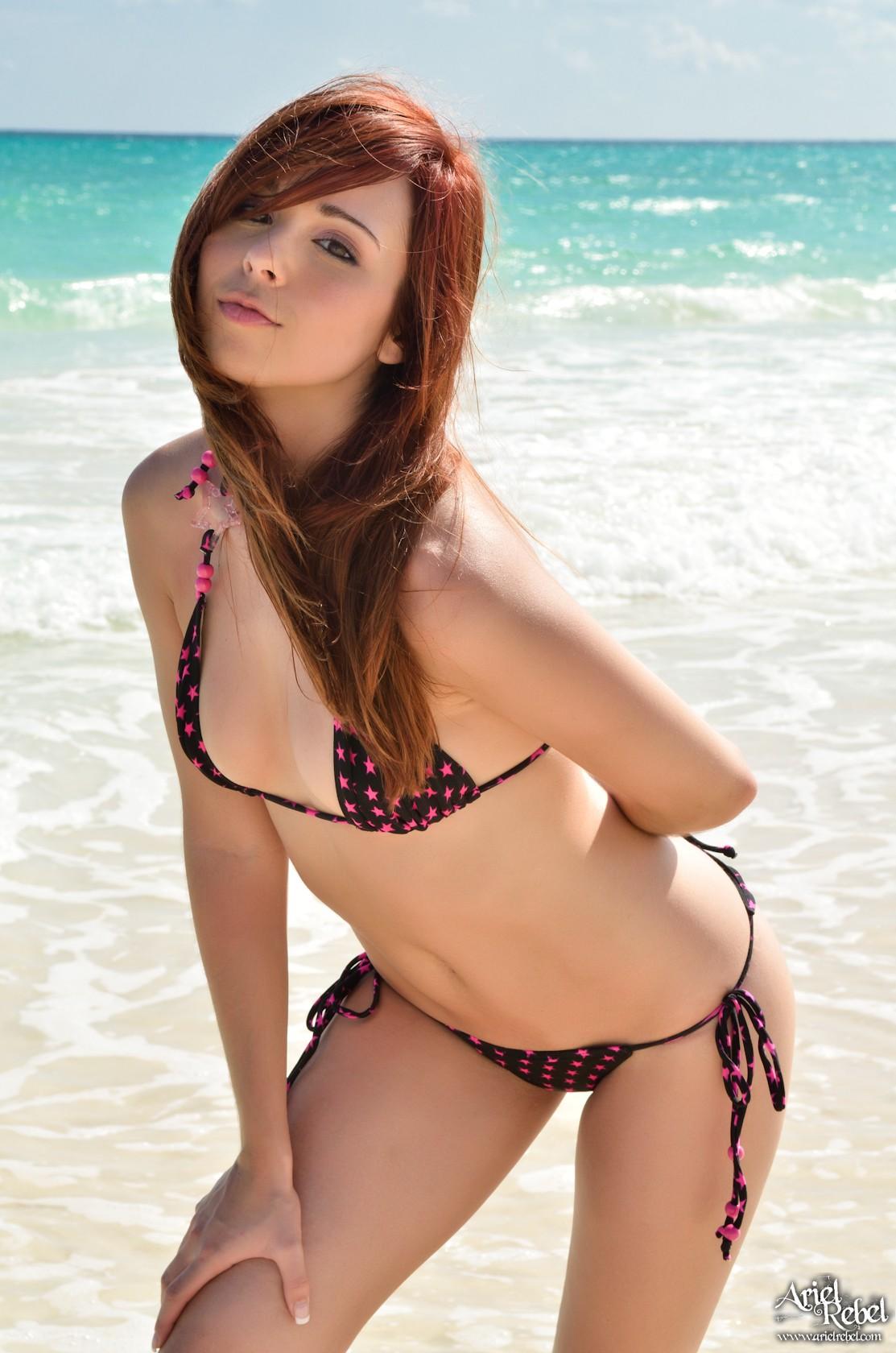 nude beach rebel Ariel