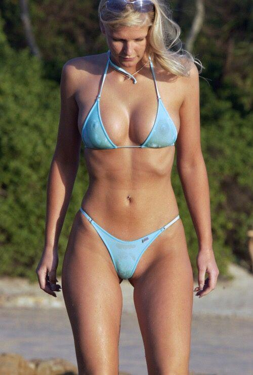Non nude bikini milf