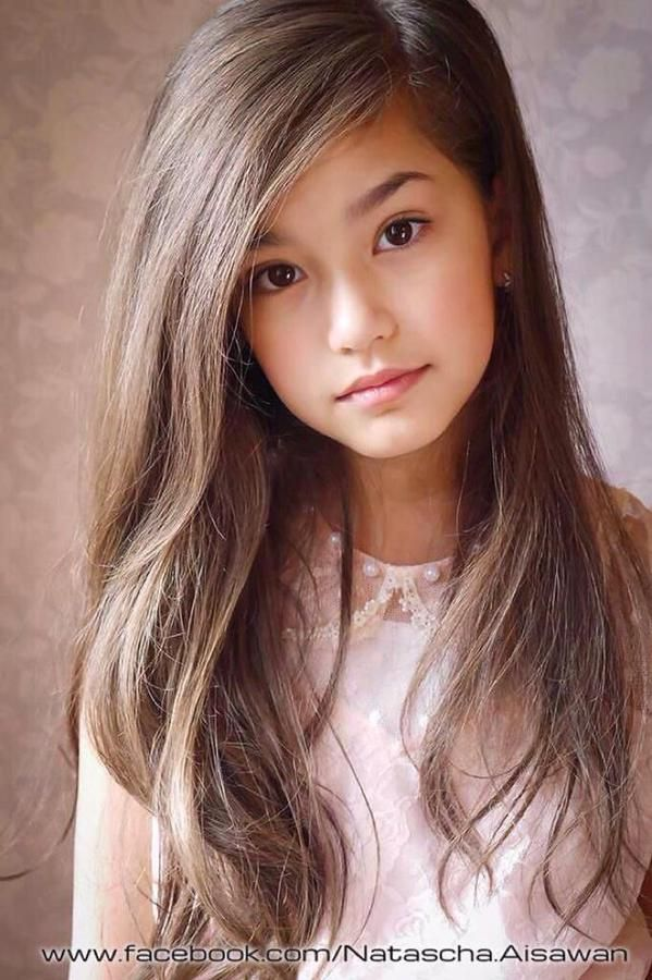 Half asian chick