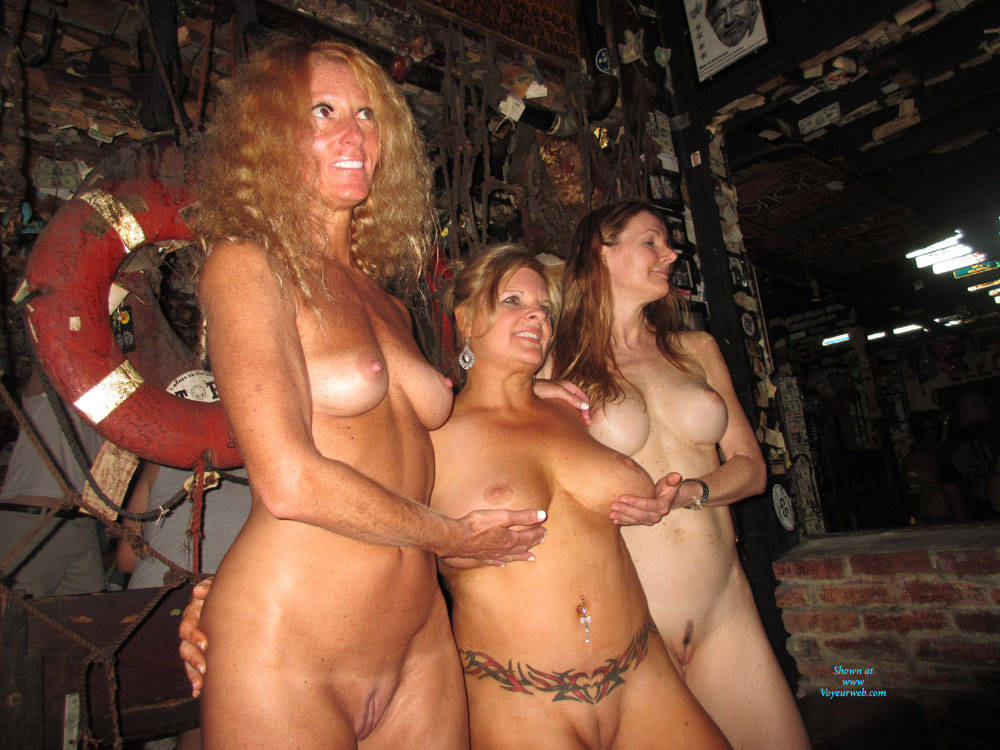 Nude key west fantasy fest pussy