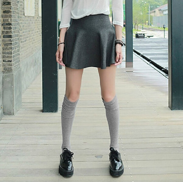 Girl thigh high socks