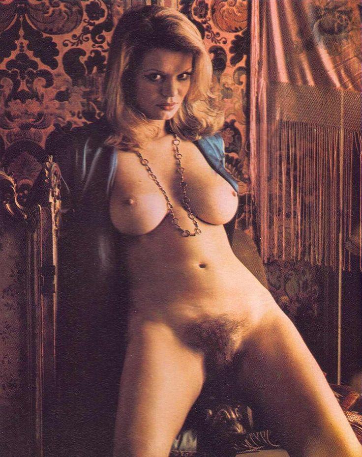 Vintage busty hairy nude women