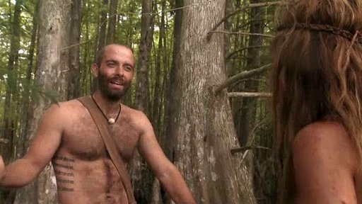 Naked survivor uncensored