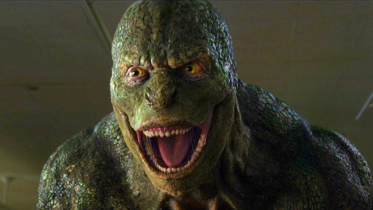 lizard man Amazing spider