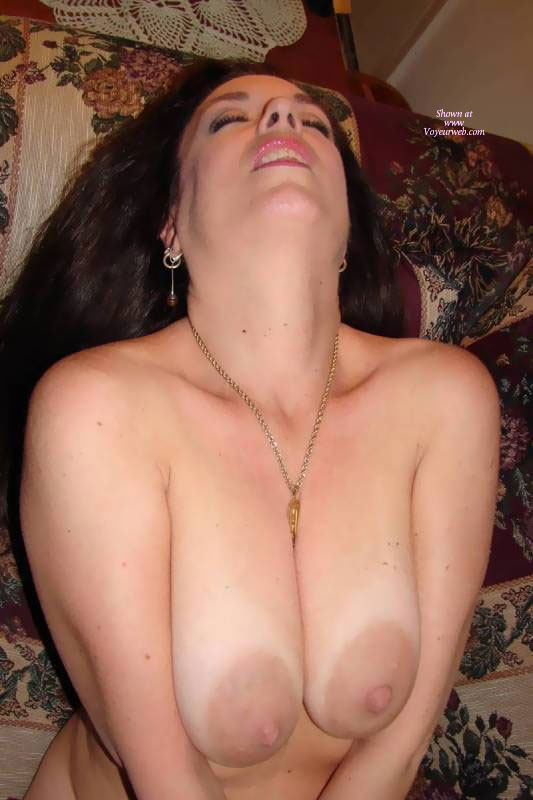 Big tits with huge areolas