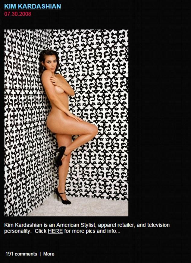 Kim kourtney kardashian nude