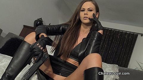 femdom Leather fetish