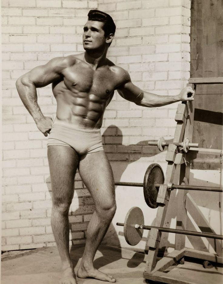Gay vintage male physique