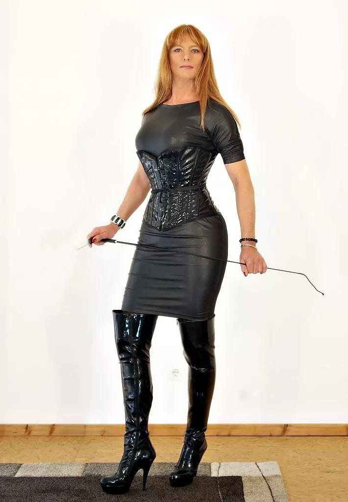 Leather mistress dresses