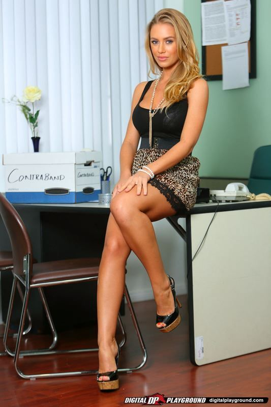 porn secretary Sexy office