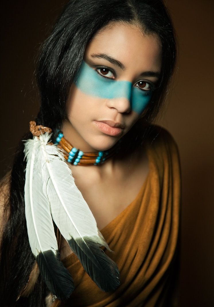beauty american Sexy native