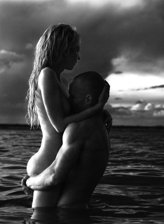 Black nude beach couples