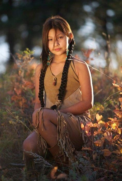 Sexy native american beauty