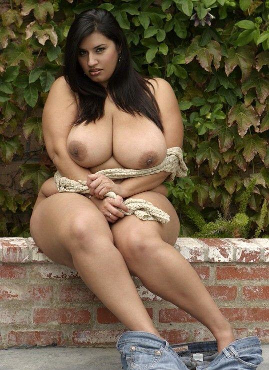Big and beautiful woman nude