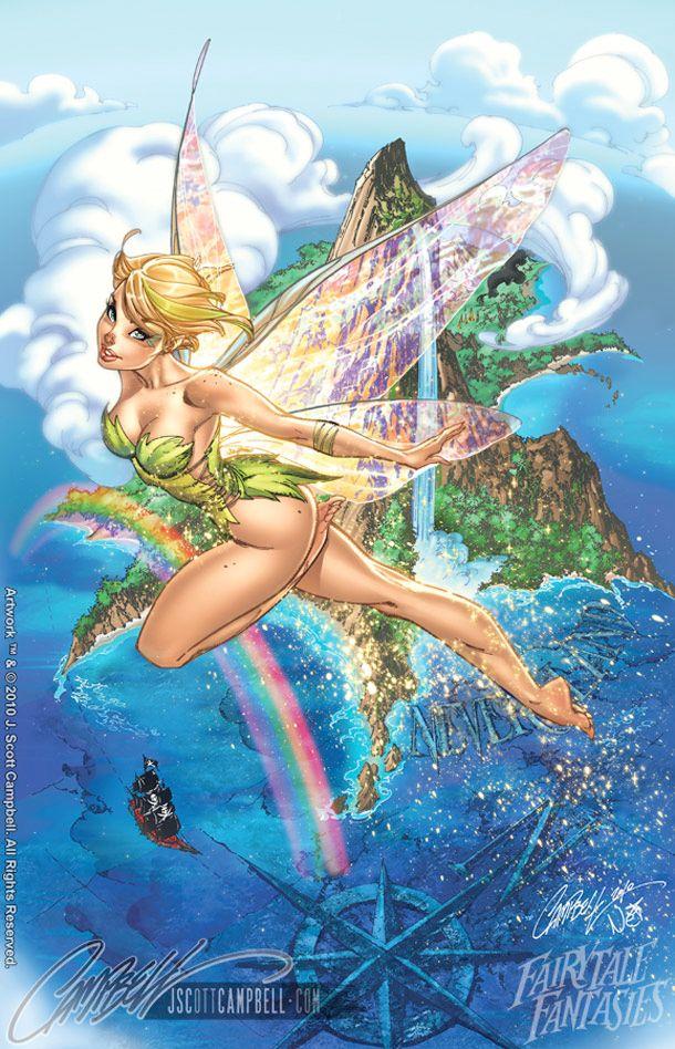 Disney fairies tinker bell naked