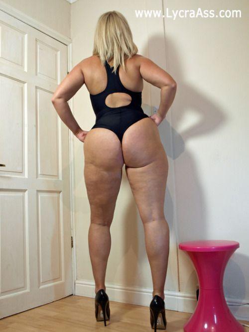 Milf big ass thong