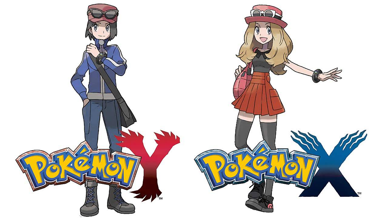 y Pokemon x and