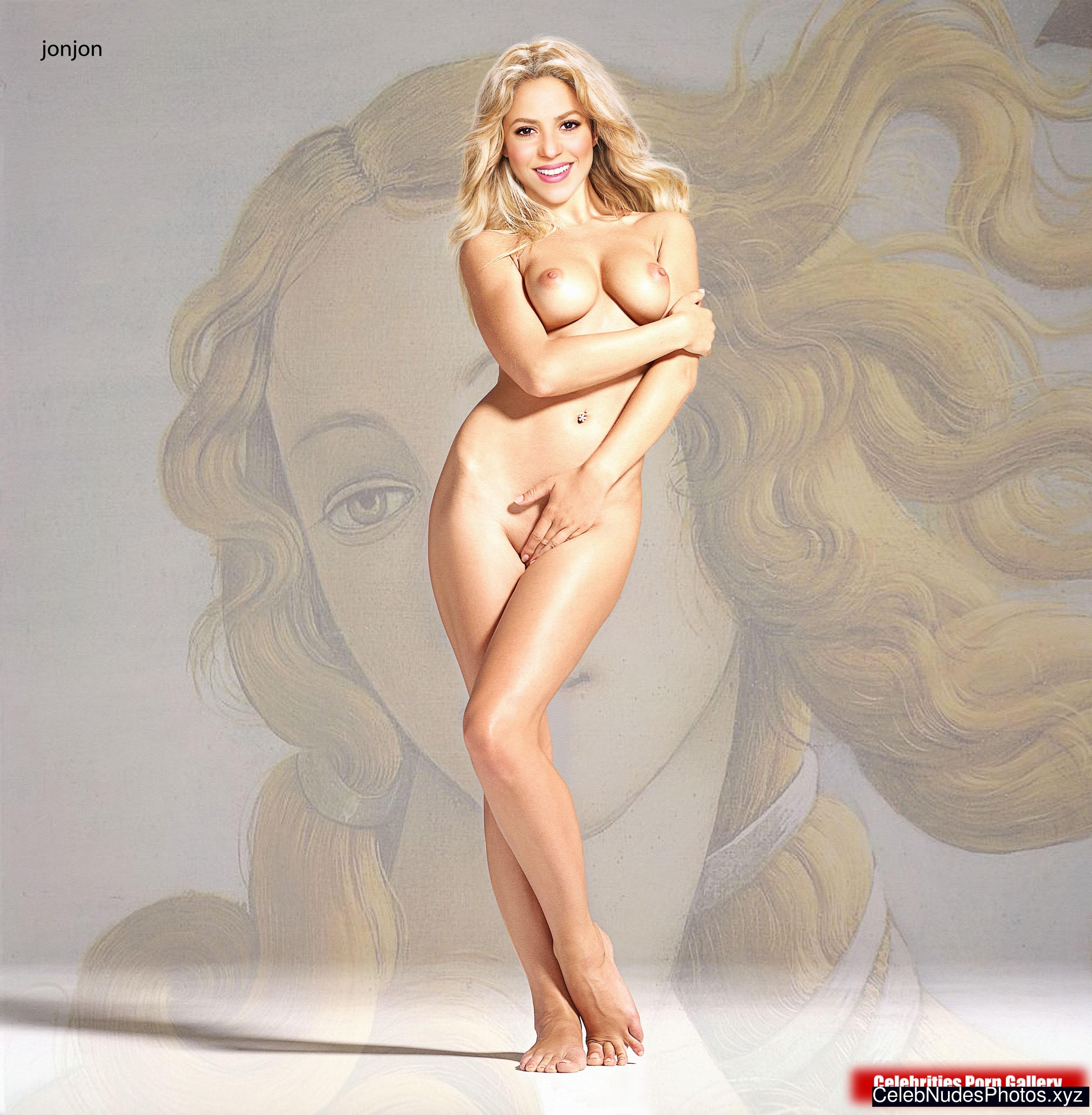 Shakira celebrity nudes