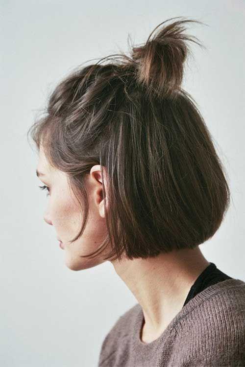 shorthaired brunette Adorable