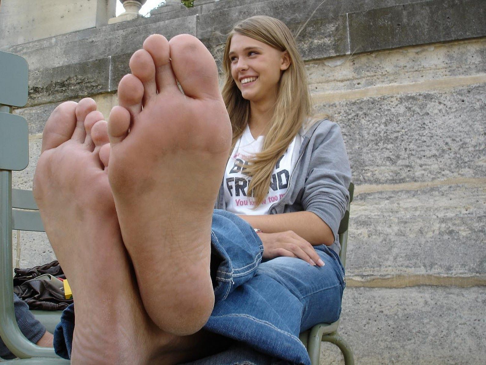 Foot fetish daily soles