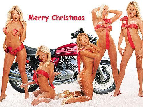 Hot sexy girl christmas