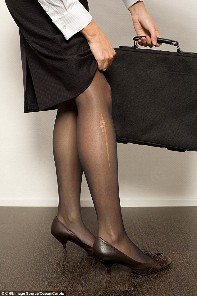 Mom her son for wearing pantyhose