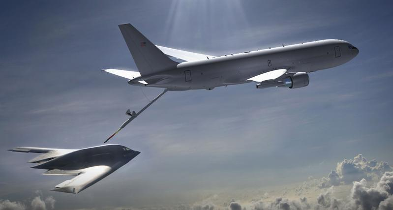 Air force refueling aircraft