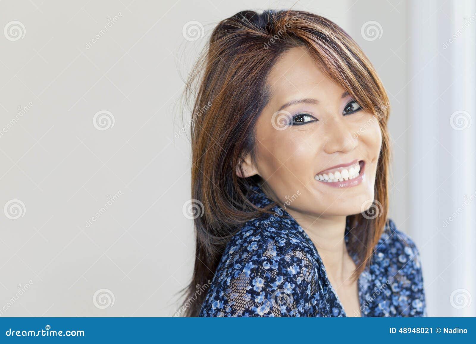 asian woman Mature