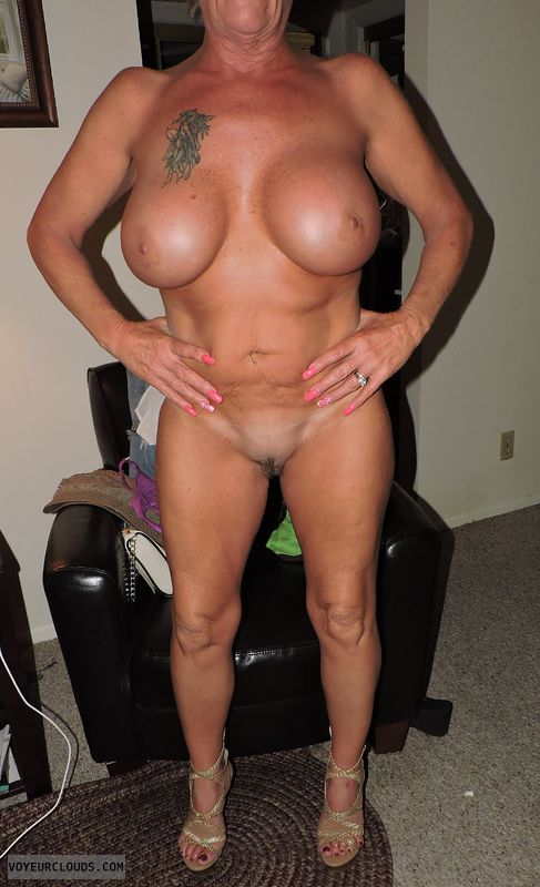 Big boobs milf tan lines nude