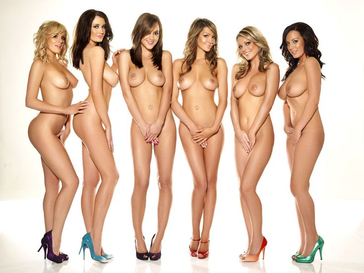 Group nude girls zoo