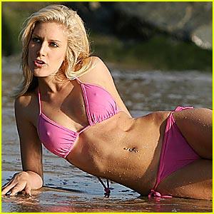 Heidi montag bikini malfunction