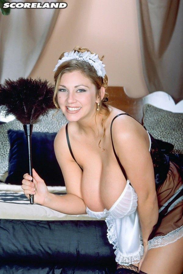 French maid milf
