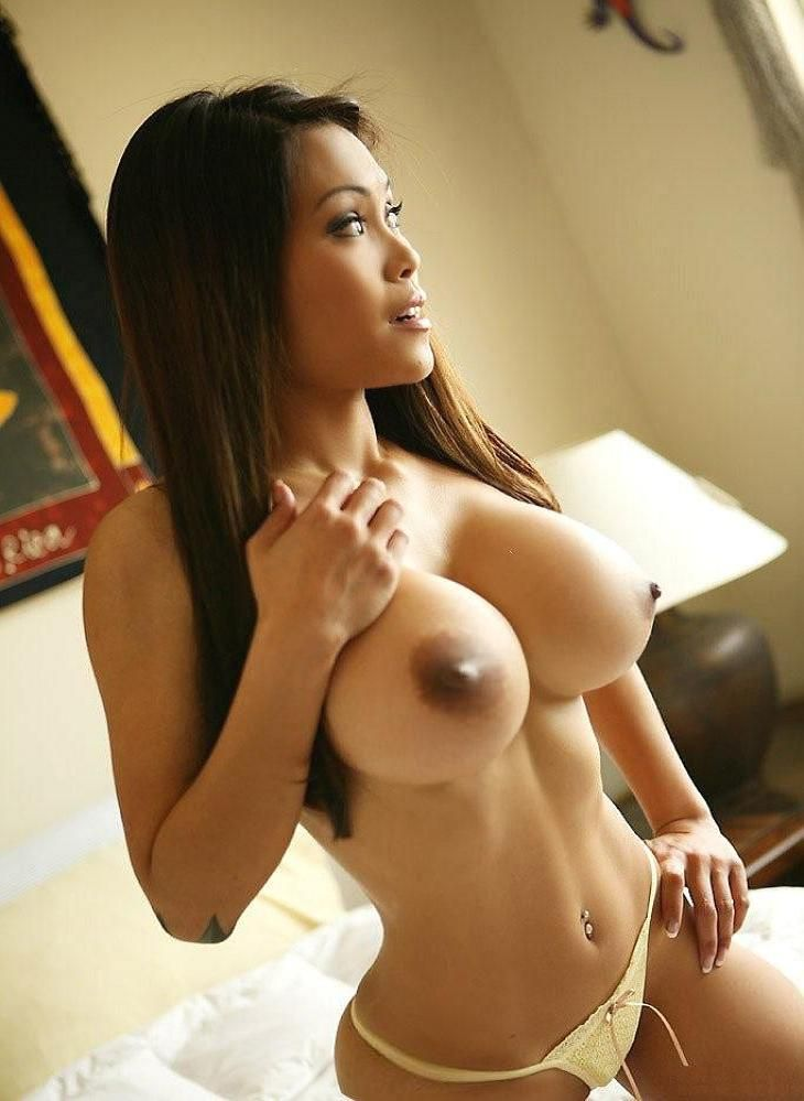 Asian girls with big boobs hard nipples