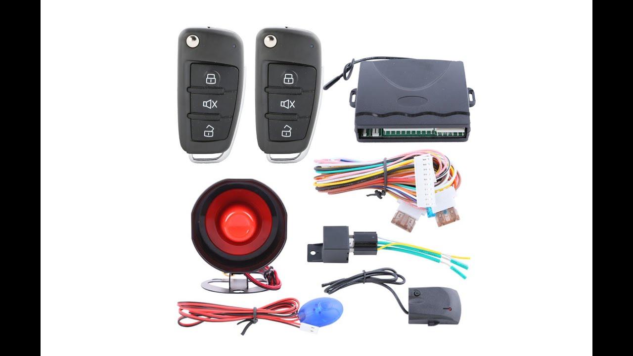 Remote control car door lock