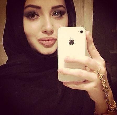 arab Beautiful amateur hijab
