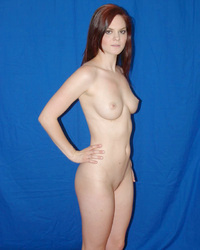 Nude amateur model first photo shoot