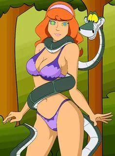 Daphne scooby doo cartoon porn