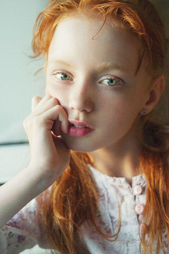 redhead teen Skinny