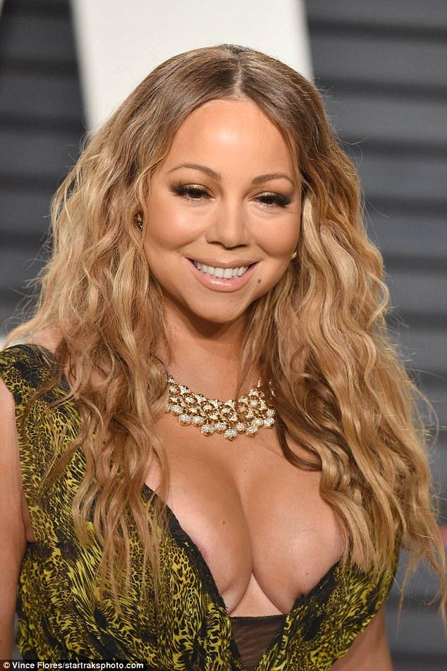 Mariah carey nipple slips