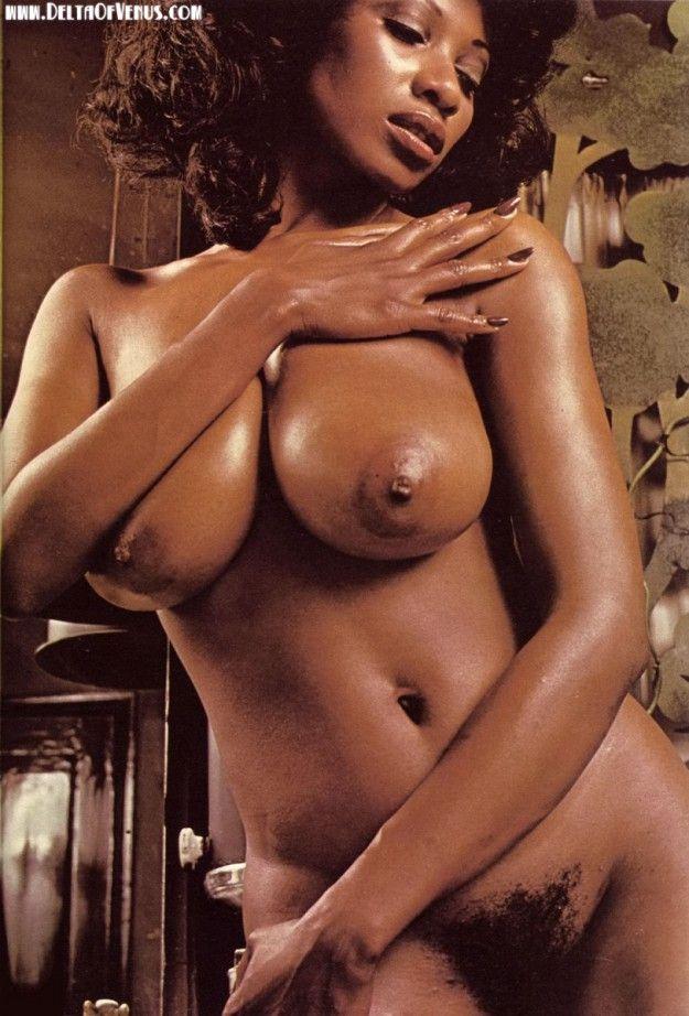 Vintage natural breasts nude